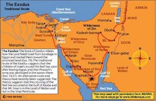 Ex-1-The Exodus Map