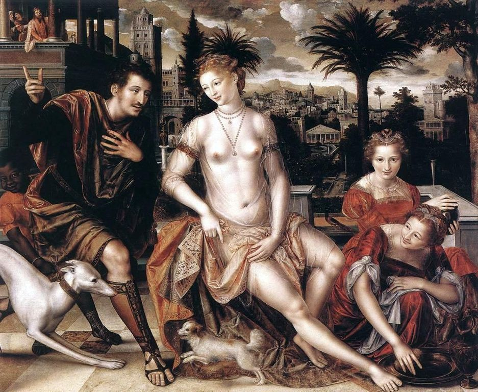 David and Bathsheba painting